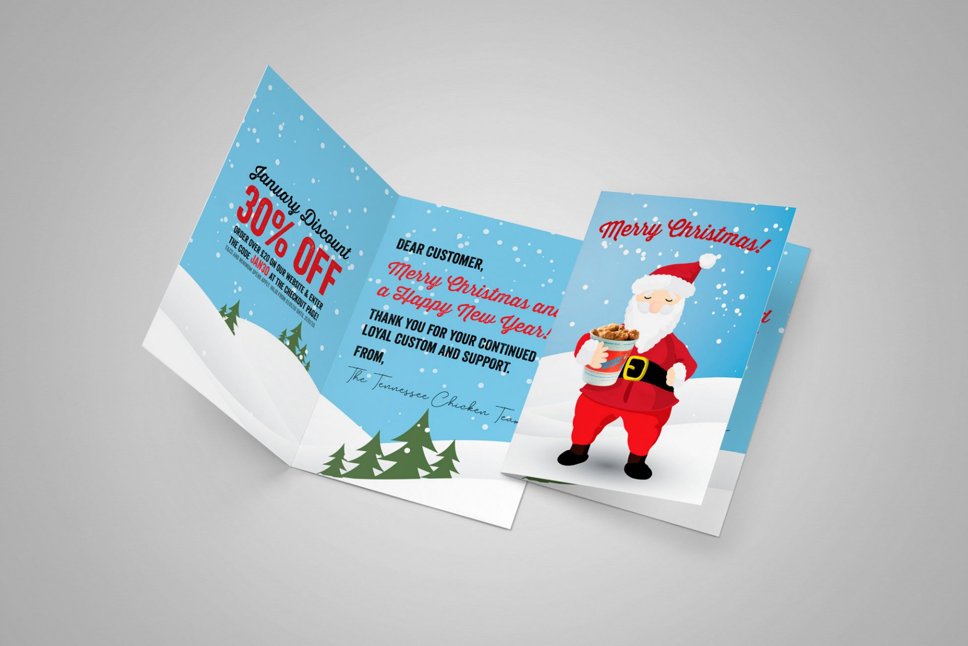 Branded Christmas Cards