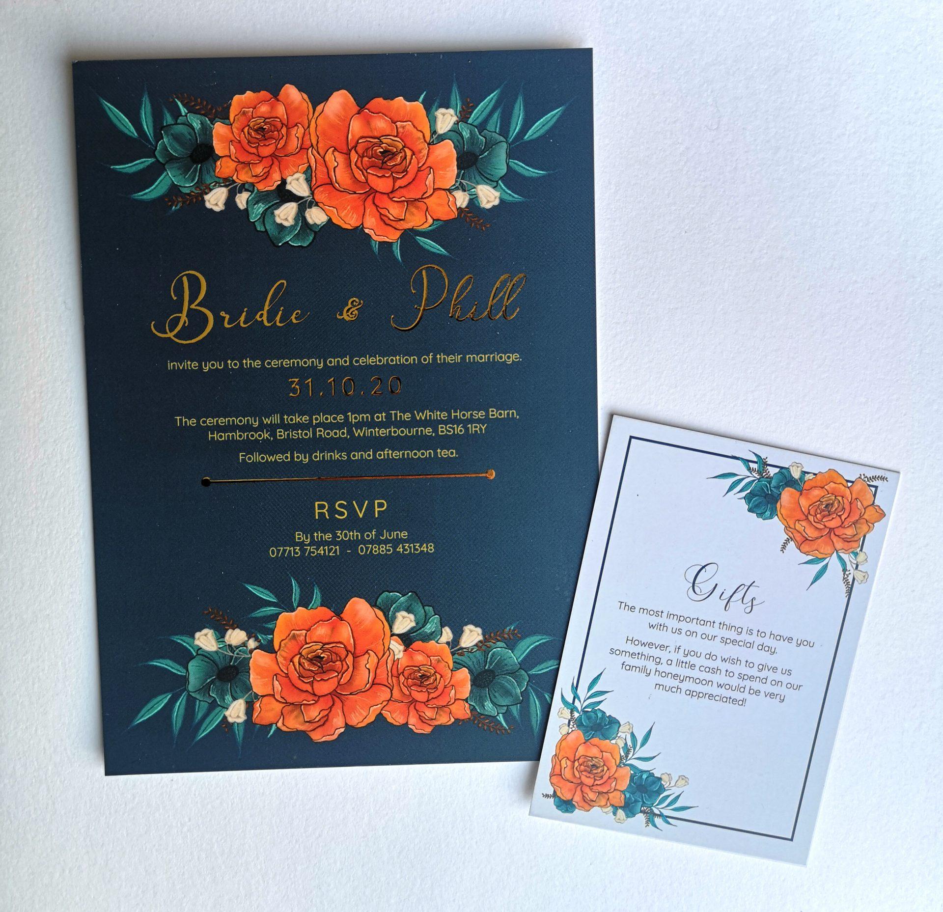 Wedding Day Invitations