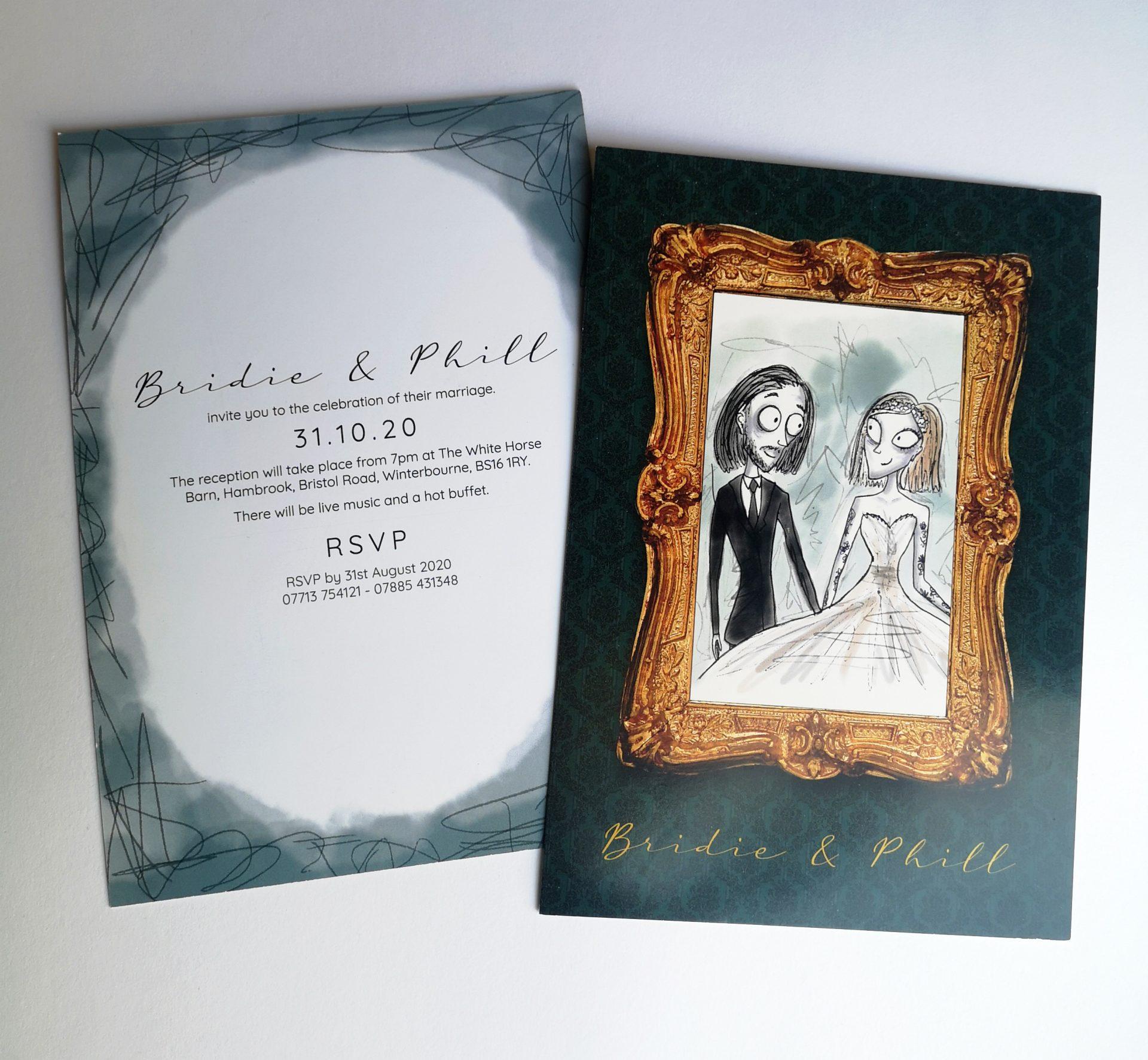 Wedding Evening Invitations
